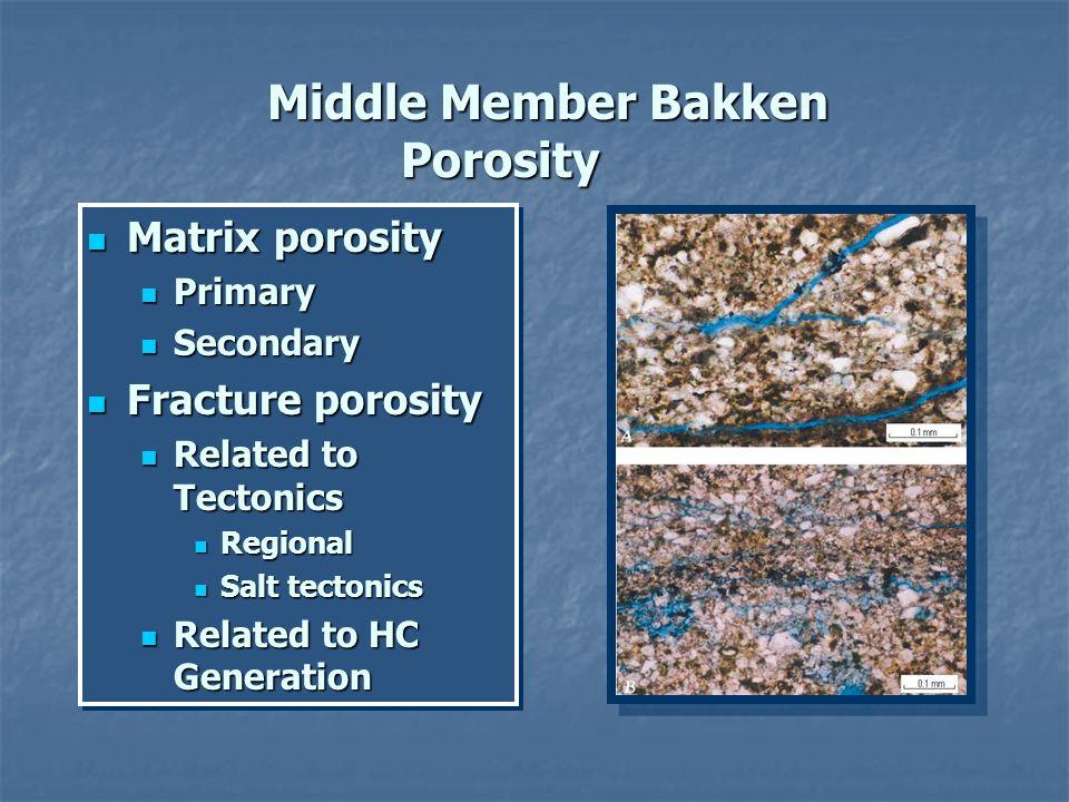 Matrix porosity Matrix porosity Primary Primary Secondary Secondary Fracture porosity Fracture porosity Related to Tectonics Related to Tectonics Regi