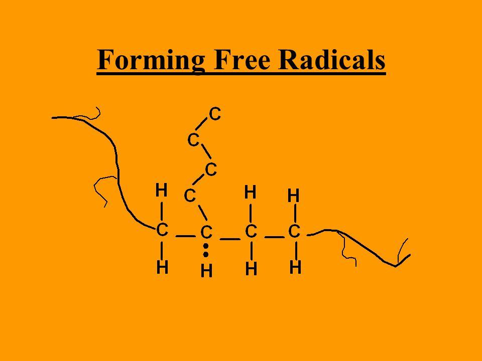 Forming Free Radicals