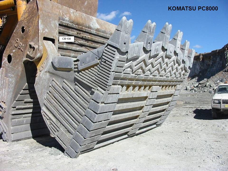 CB 130 KOMATSU PC8000