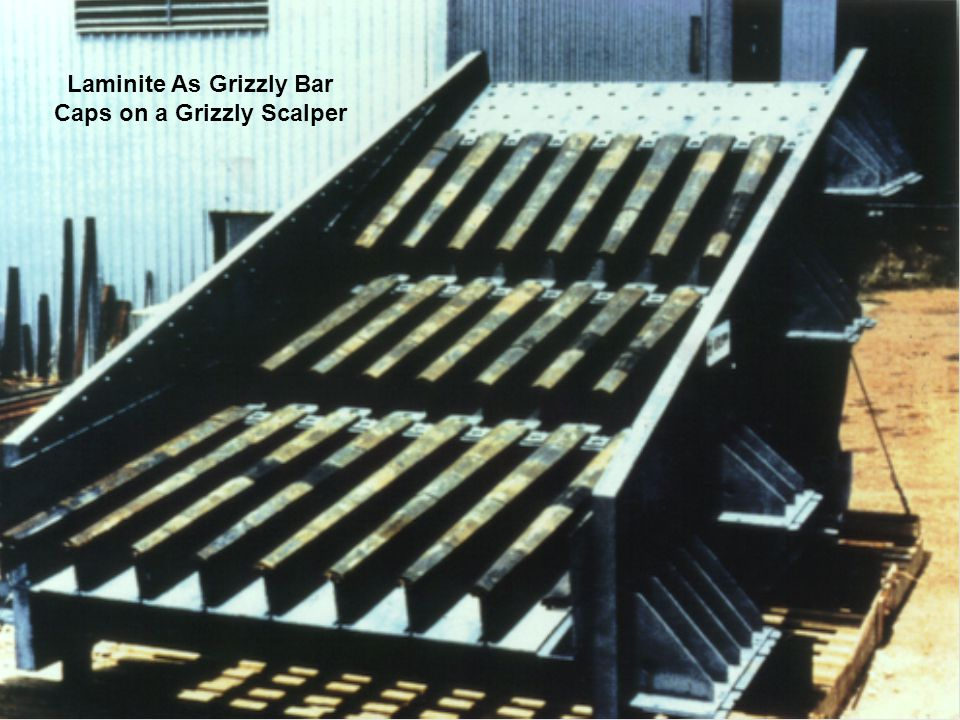Laminite As Grizzly Bar Caps on a Grizzly Scalper