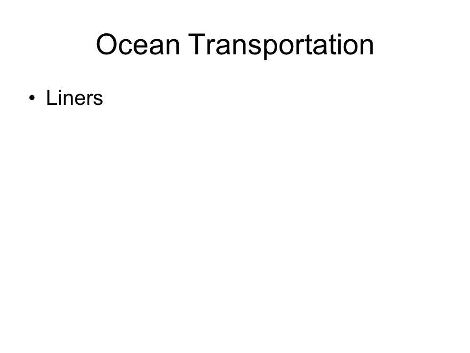 Ocean Transportation Liners