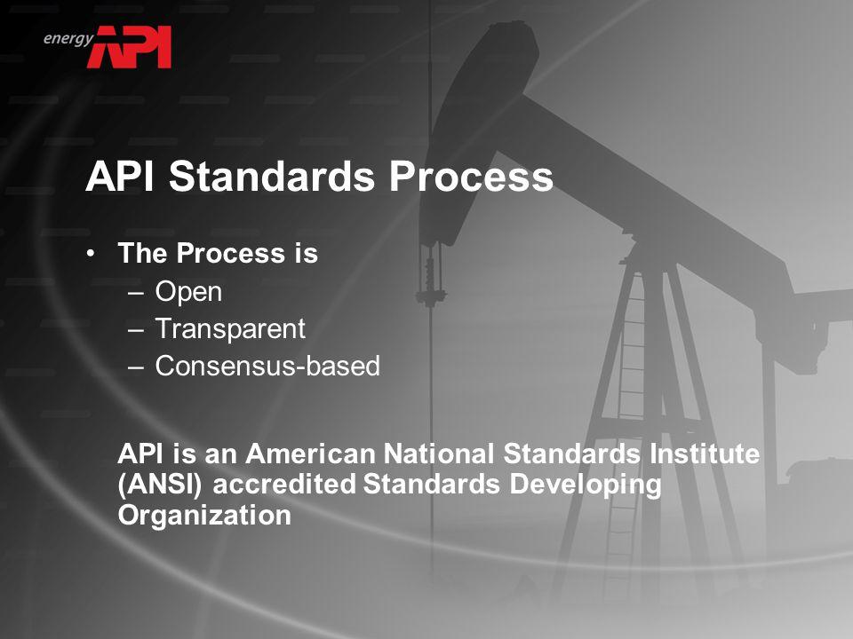 Major API Activities for CCS CCS Work Group API/IPIECA CCS Project Guidance Committee API RP 90: Annular Casing Pressure Management API RP 65: Annular Pressure Containment API/DOE Conferences
