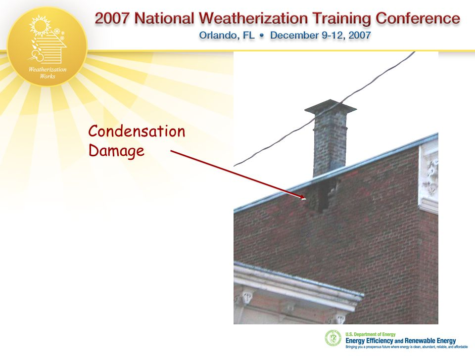 Condensation Damage