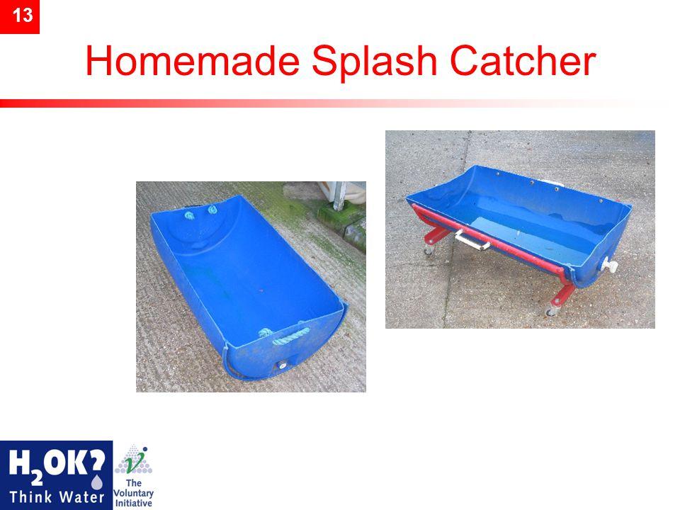 13 Homemade Splash Catcher