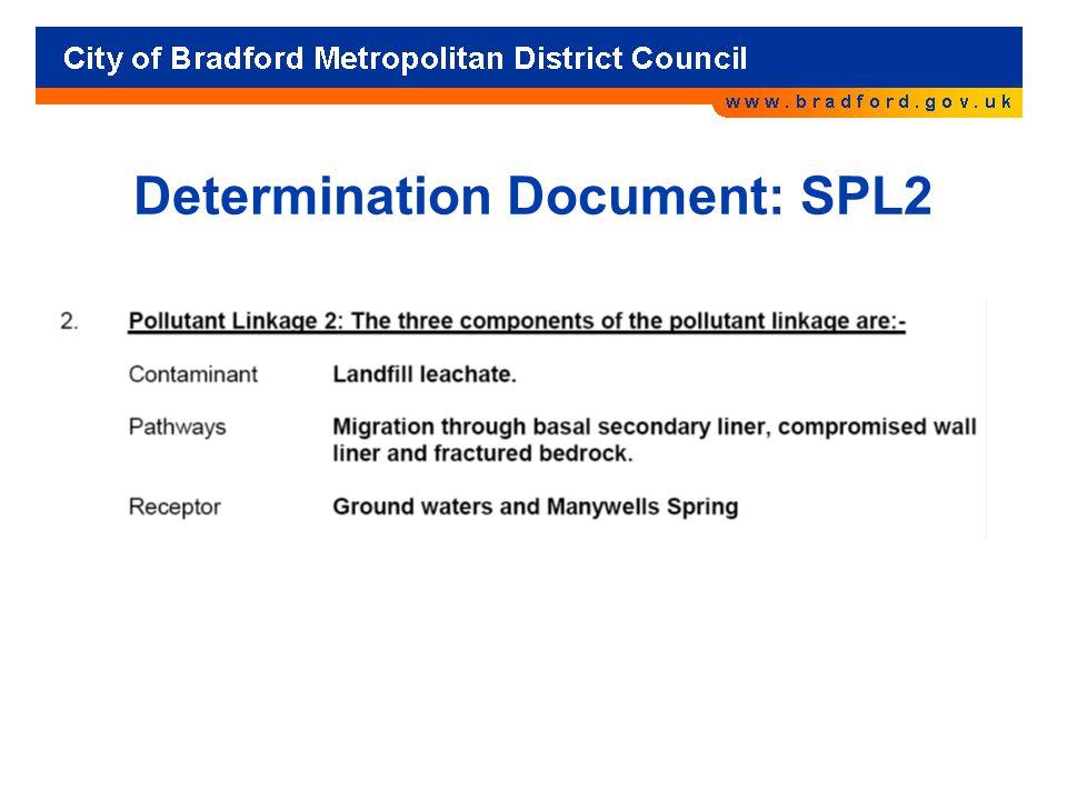 Determination Document: SPL2