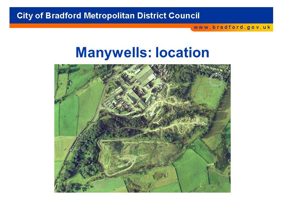 Manywells: location