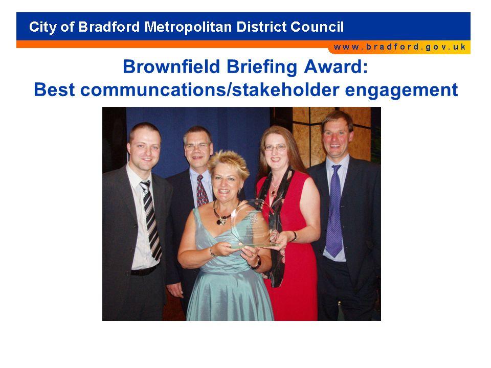 Brownfield Briefing Award: Best communcations/stakeholder engagement