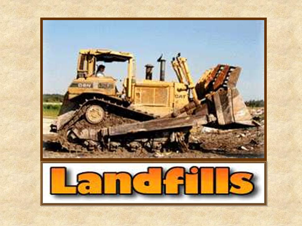 There are 3,091 active sanitary landfills in the U.S.