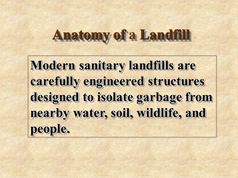 There Are 3091 Active Sanitary Landfills In The Us And Over