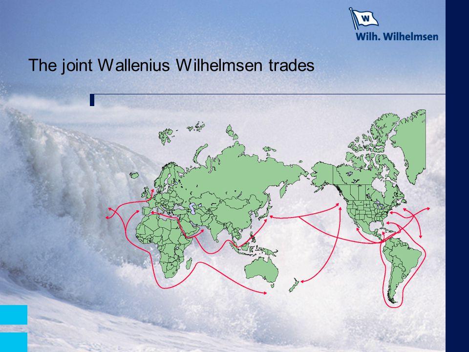 The joint Wallenius Wilhelmsen trades