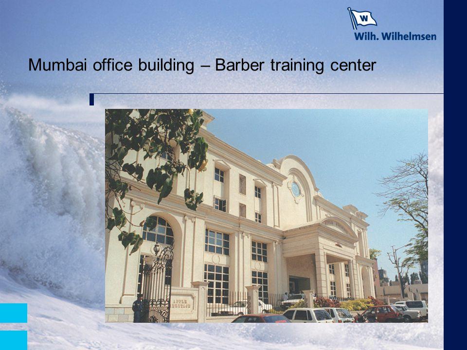Mumbai office building – Barber training center