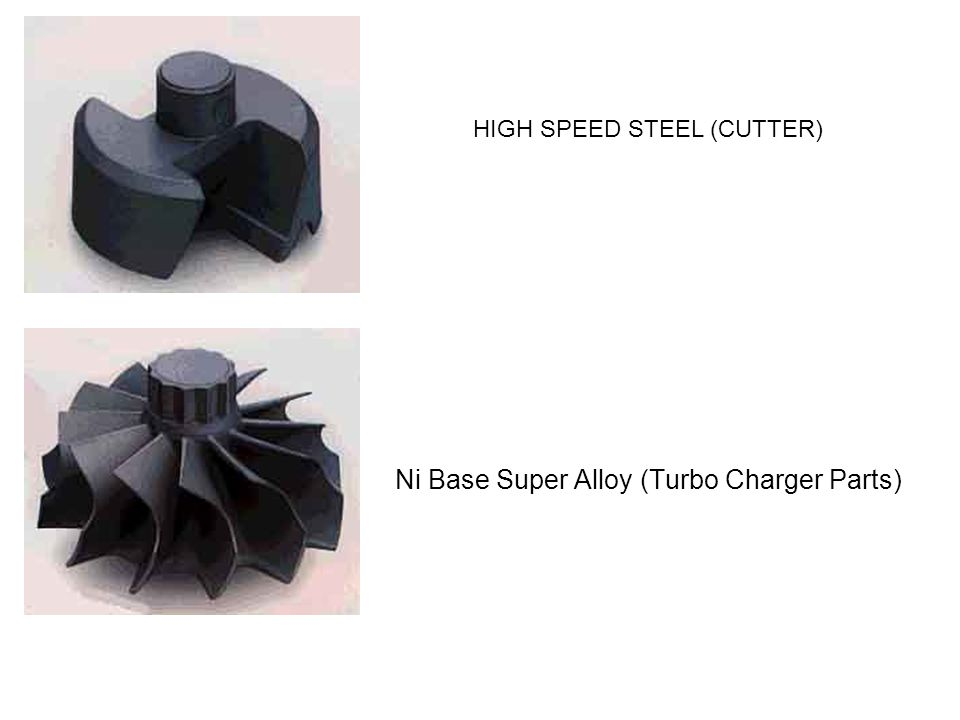 HIGH SPEED STEEL (CUTTER) Ni Base Super Alloy (Turbo Charger Parts)