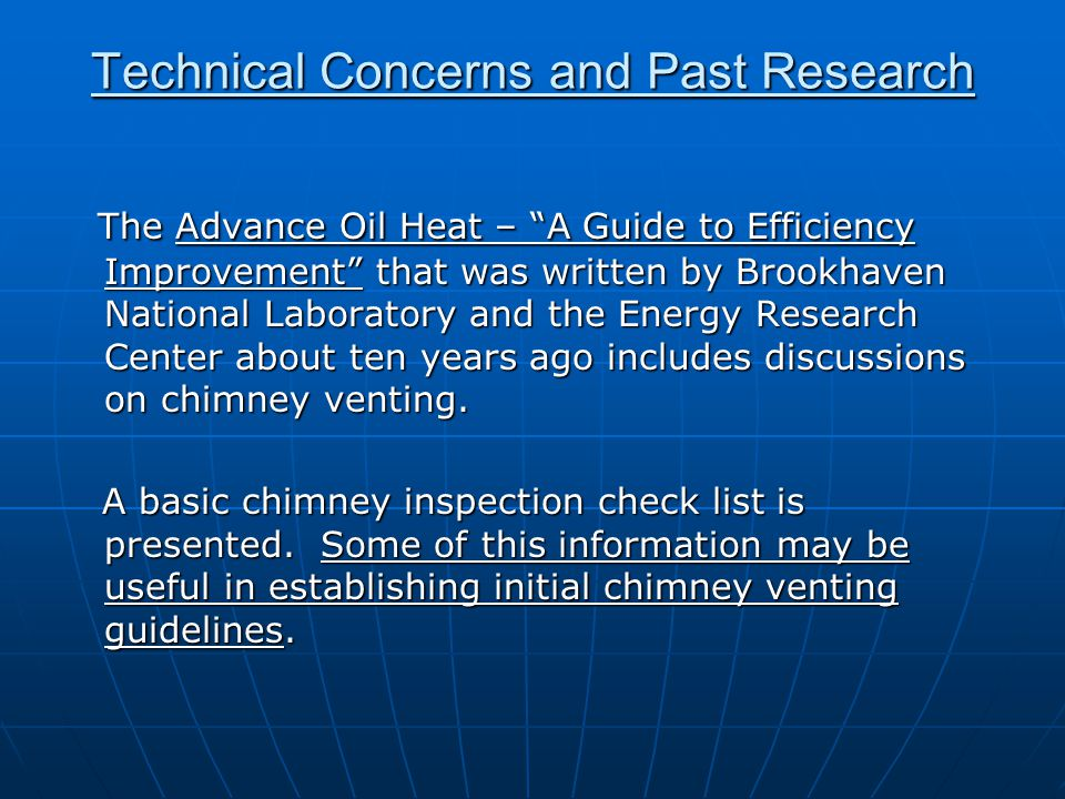 """The Advance Oil Heat – """"A Guide to Efficiency Improvement"""" that was written by Brookhaven National Laboratory and the Energy Research Center about ten"""