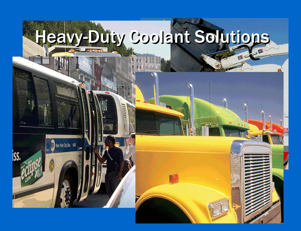 Heavy-Duty Coolant Solutions