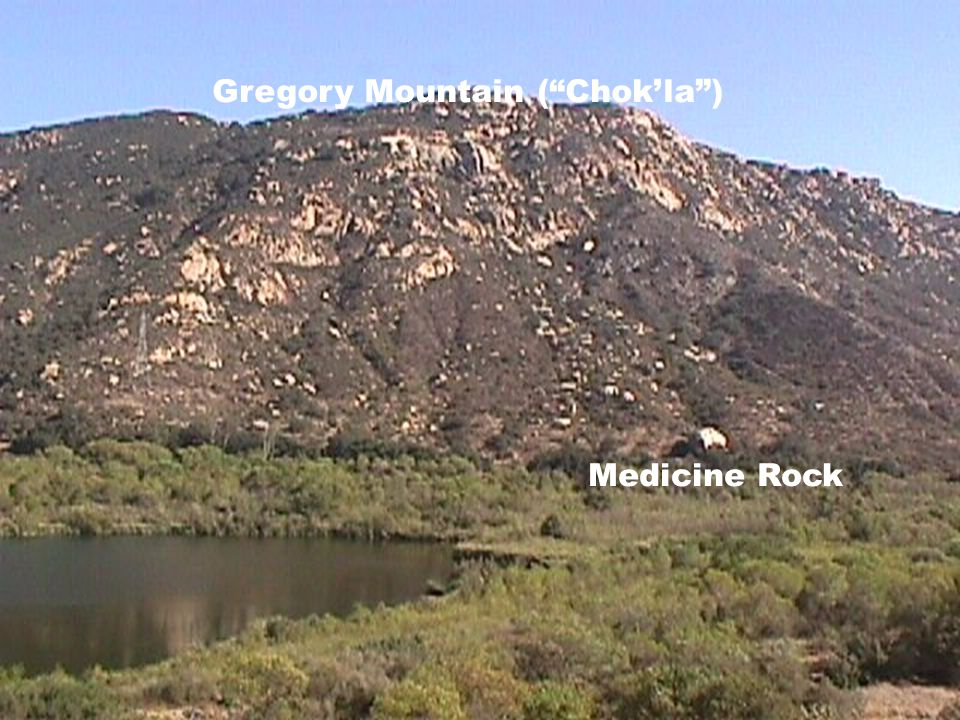 Gregory Mountain ( Chok'la ) Medicine Rock