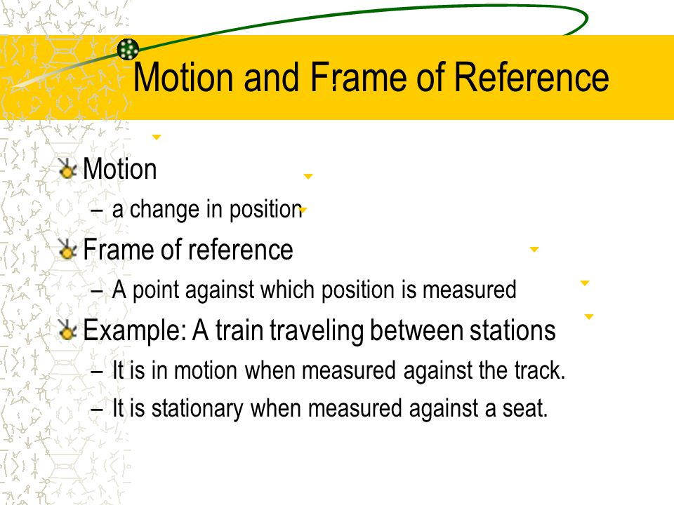 Velocity and Speed Velocity describes motion with both a direction and a numerical value (a magnitude).
