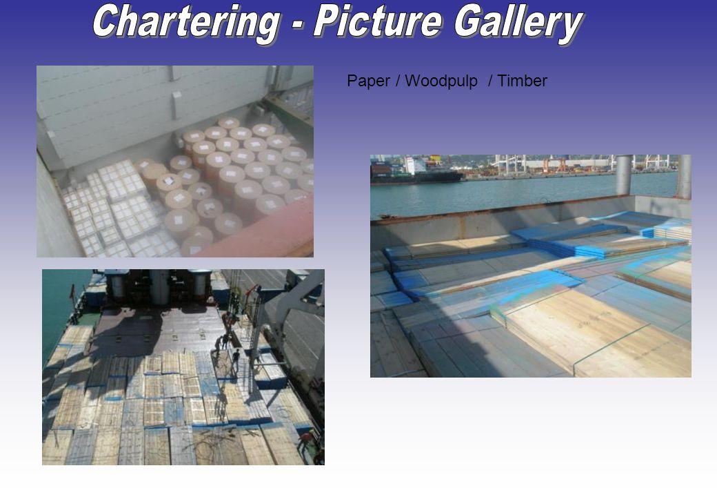 Paper / Woodpulp / Timber