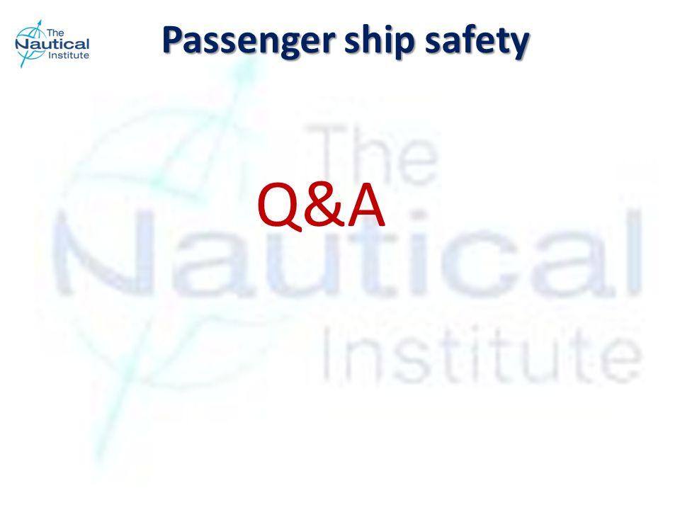 Q&A Passenger ship safety