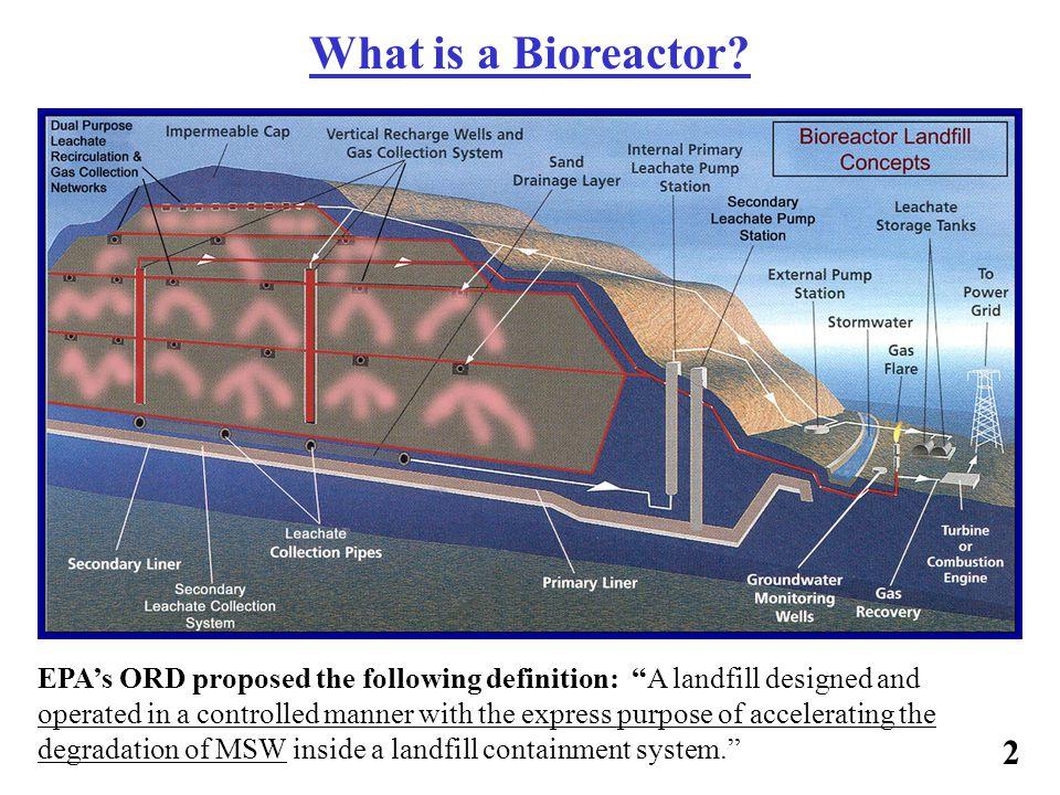 What Defines A Bioreactor Landfill.