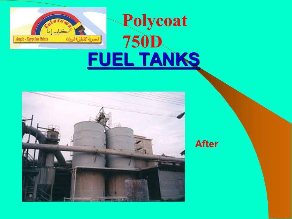 Polycoat 750D FUEL TANKS After