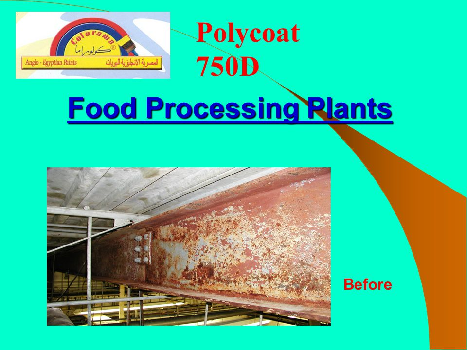 Polycoat 750D Food Processing Plants Before