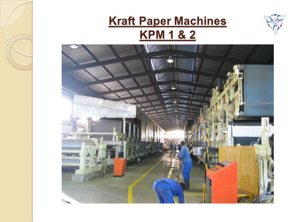 Kraft Paper Machines KPM 1 & 2