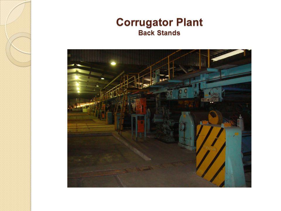 Corrugator Plant Back Stands