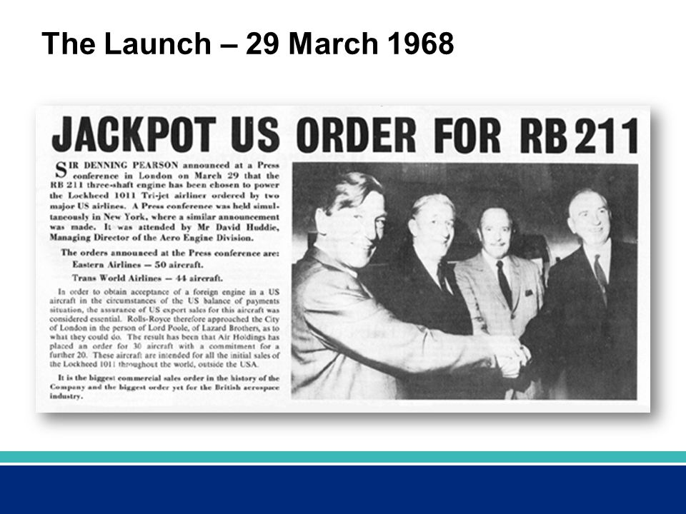 The Launch – 29 March 1968