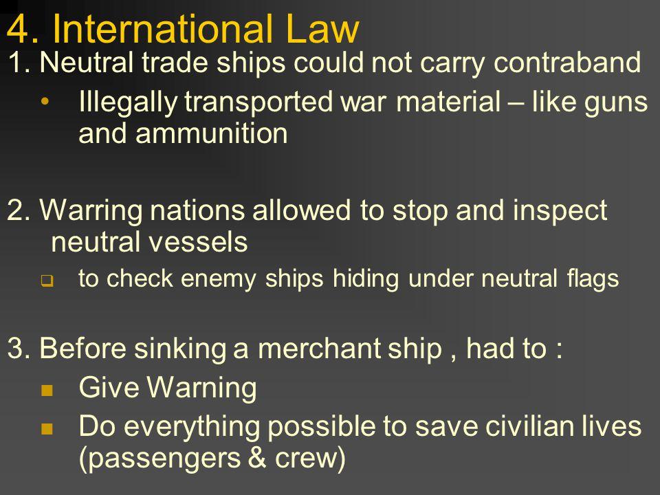 4. International Law 1.