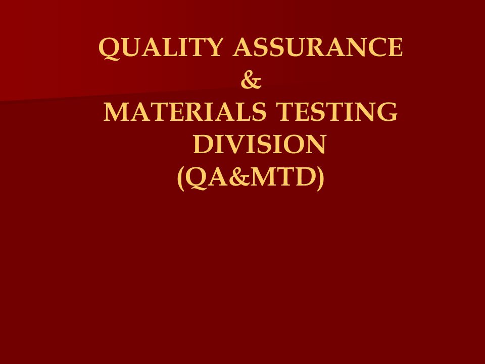 QA&MTD VOLUNTARY SUBMITTALS Issuance of an ID Number for Formulations Applicants are required to list the ingredients of their products by chemical terms in their application Provide MSDS Sheets Chemical suppliers do not want to divulge their proprietary formulations to the applicant.
