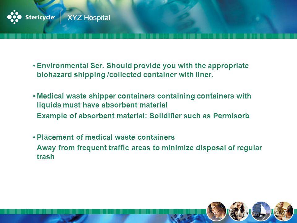 XYZ Hospital Environmental Ser.
