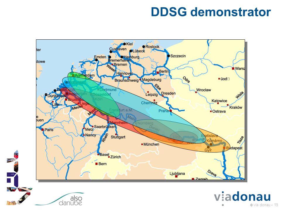© via donau 19 DDSG demonstrator