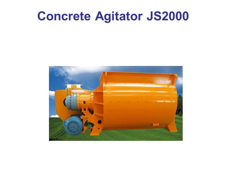 Concrete Agitator JS2000
