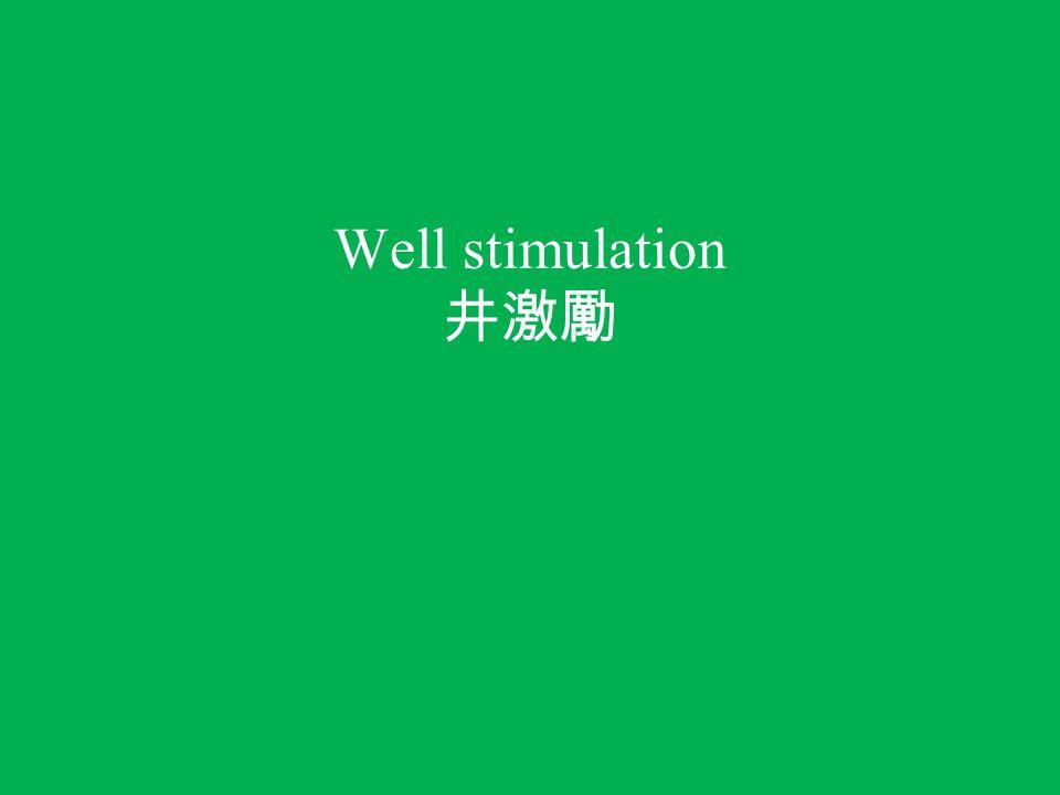 Well stimulation 井激勵