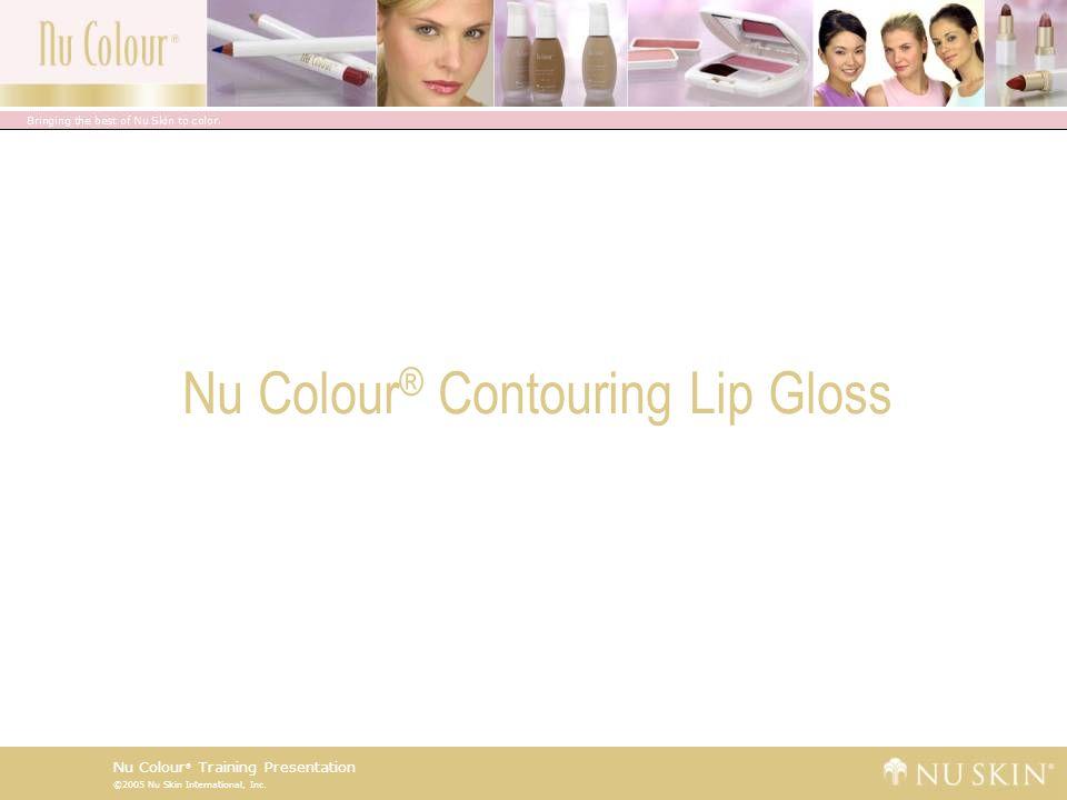 ©2005 Nu Skin International, Inc.Nu Colour ® Training Presentation Did You Know.