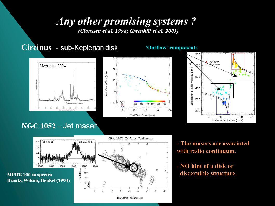 The Keplerian disk toward NGC 4258 (Nakai et al. 1993; Miyoshi et al.