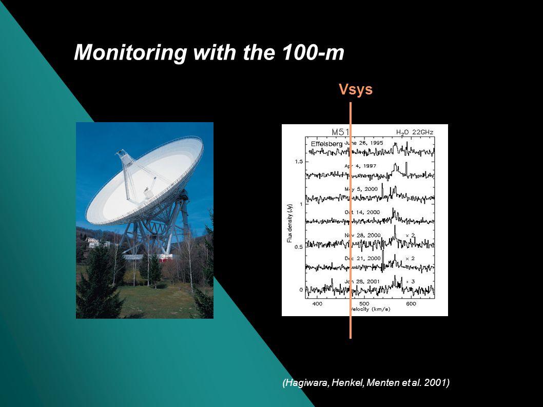 The H 2 O maser in M51 Terashima & Wilson (2004) + : Hard Xray point source Hagiwara, Henkel, et al.