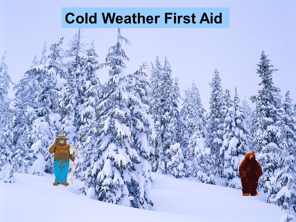 Cold Weather First Aid