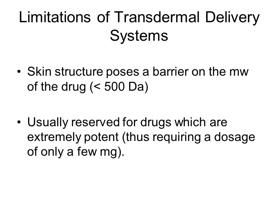 What kind of drugs can be incorporated into a patch.