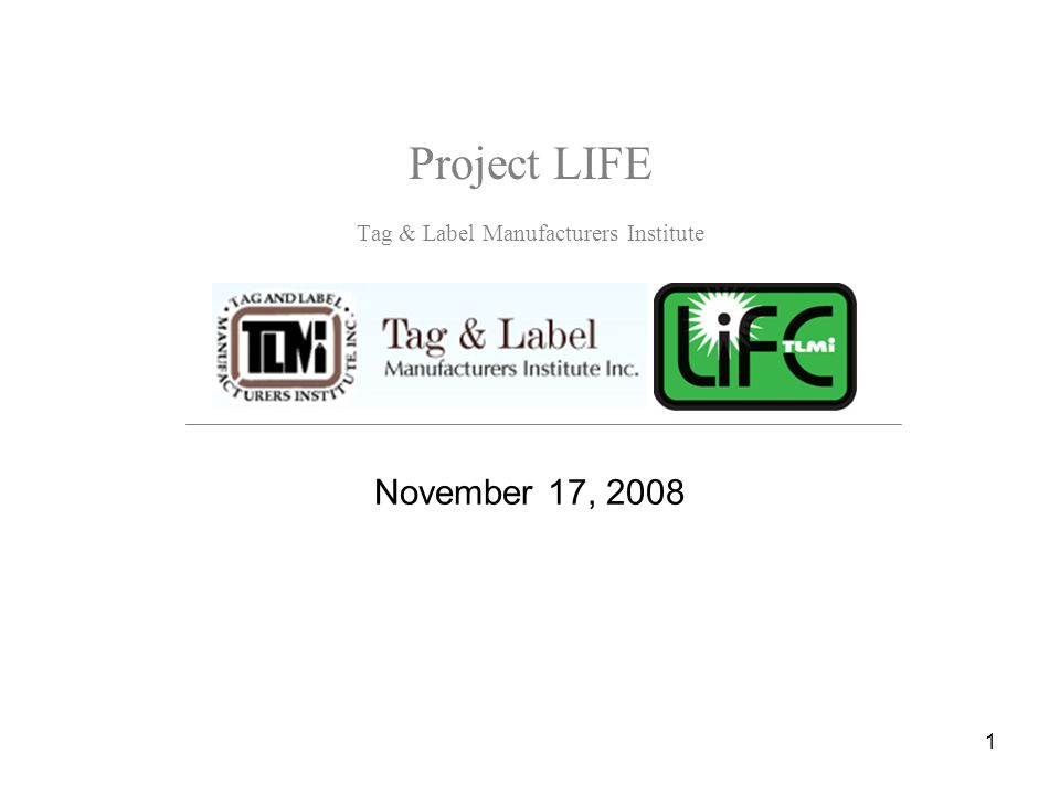 2 Agenda What is Project LIFE.Why should I participate.