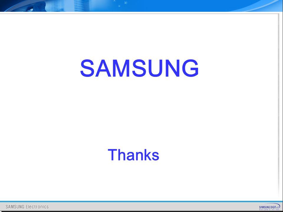Thanks SAMSUNG