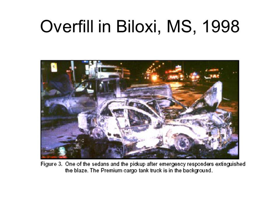 Overfill in Biloxi, MS, 1998
