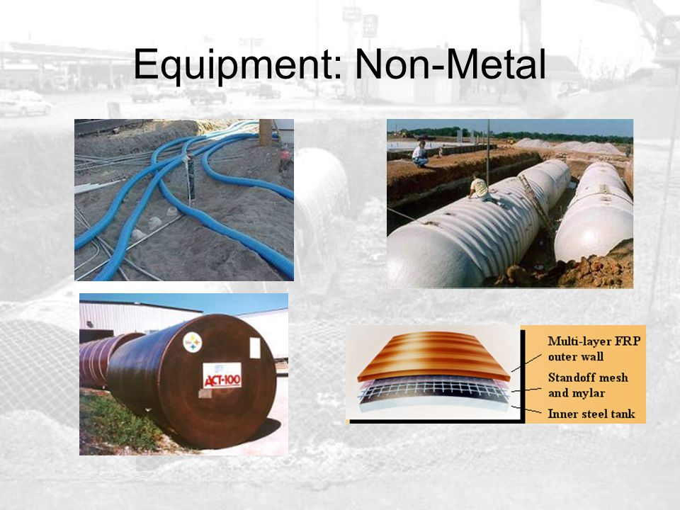 Equipment: Non-Metal