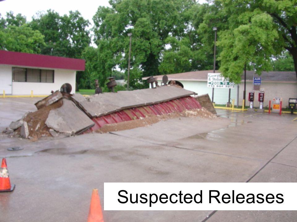 Suspected Releases