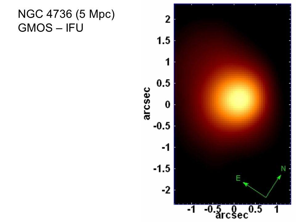 NGC 4736 (5 Mpc) GMOS – IFU