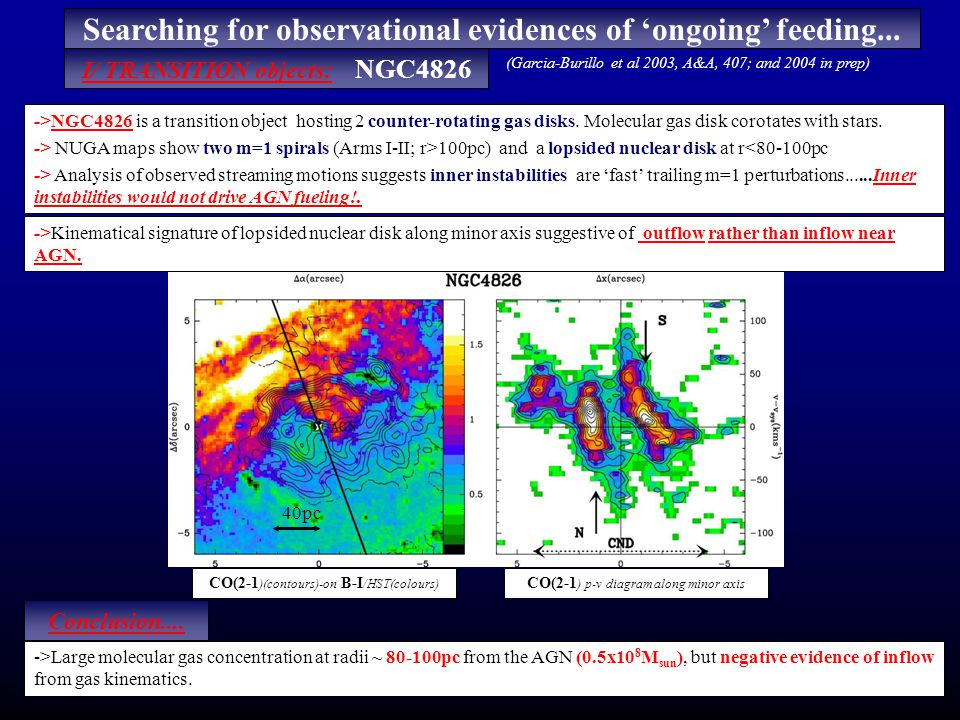 NUGA maps unveil a lot of m=1 instabilities in AGN.