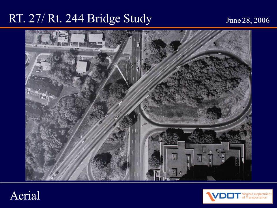 RT. 27/ Rt. 244 Bridge Study June 28, 2006 Example of Form Liner Use