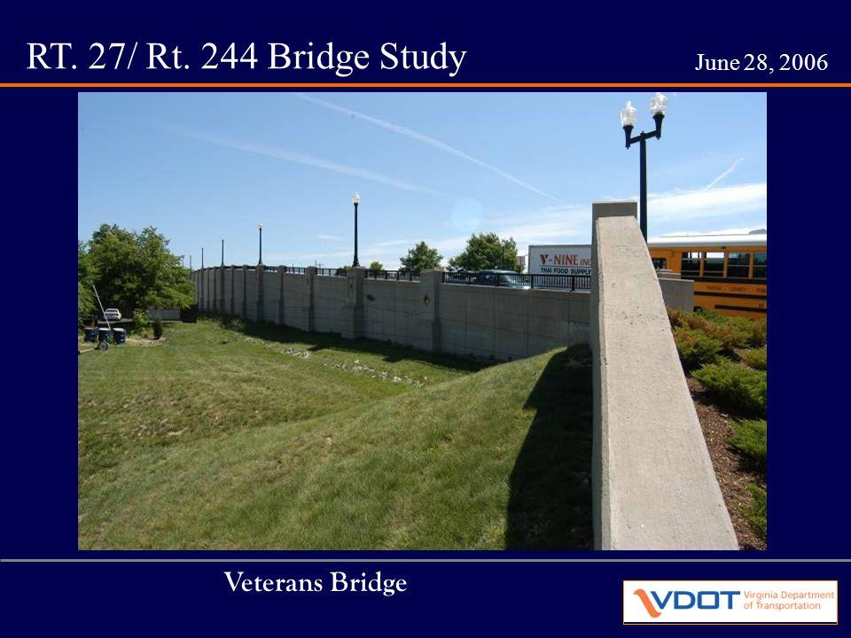 RT. 27/ Rt. 244 Bridge Study June 28, 2006 Column Design #1 Cast in Place Pre-cast Concrete