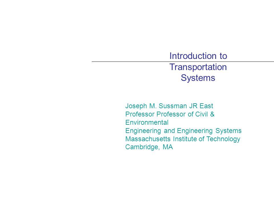 PART II: FREIGHT TRANSPORTATION