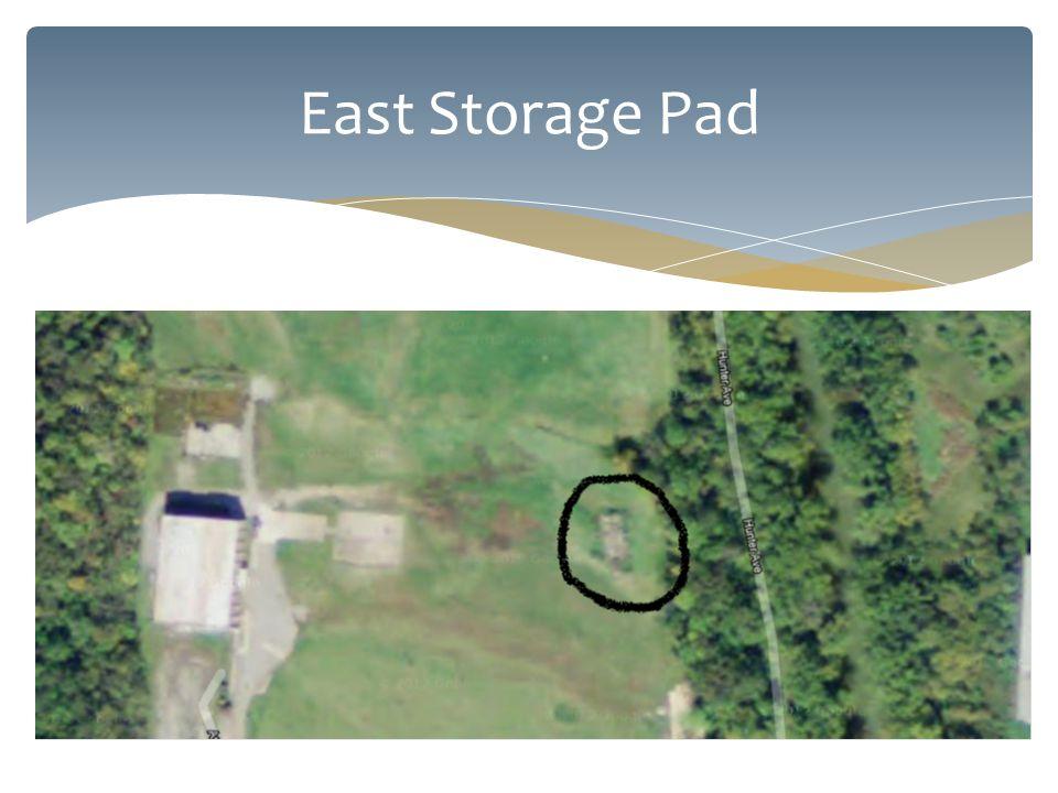 East Storage Pad